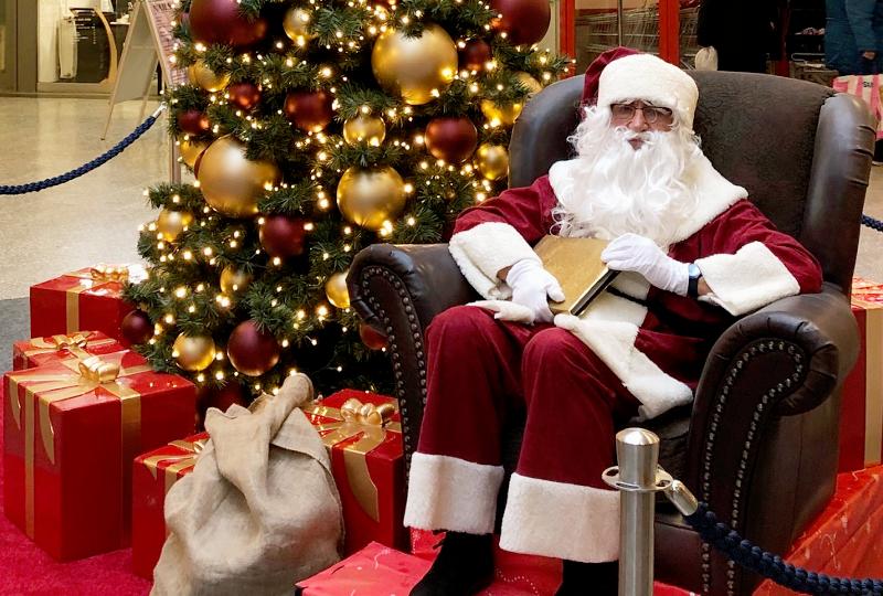 EKZ Jenfeld | Der Weihnachtsmann zu Besuch
