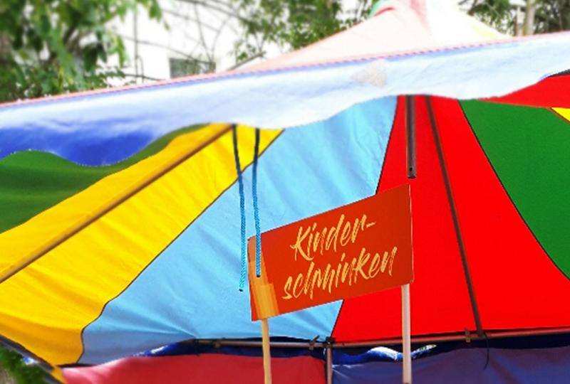 Sommerfest mit Kinderschminken im JEN | Einkaufscenter Jenfeld