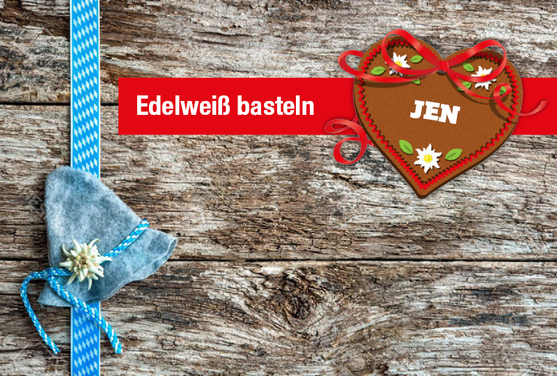 Veranstaltung im JEN | Edelweiß basteln mit den TuscheTigern | EKZ Jenfeld