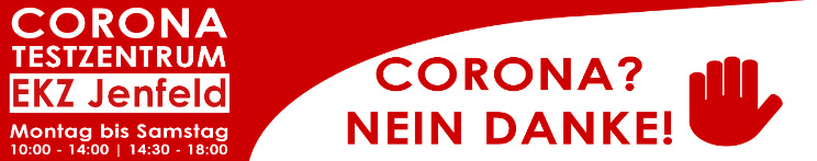 Kostenfreie Corona-Schnelltests im JEN